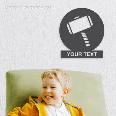 thor hammer monogram for kids online india